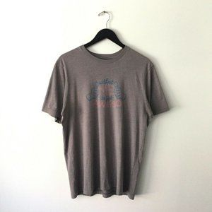 Travis Matthew Premium Graphic Tee Shirt Gray L